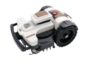 White Ambrogio Elite 4.0 Robot Mower